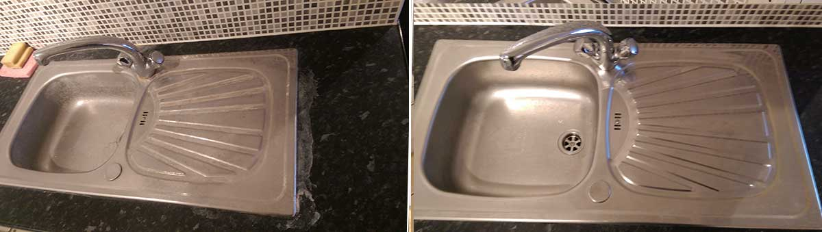 sink descaling end of tenancy