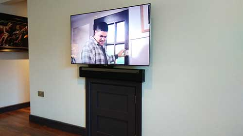 tv and soundbar mounting in Wargrave